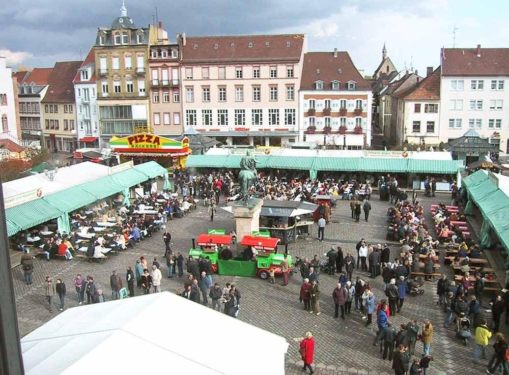 Das Fest des Federweißen in Landau in der Pfalz