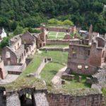 Burg-, Schloss- und Festungsruine Hardenburg bei Bad Dürkheim