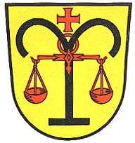 Wappen Klingenmünster in der Pfalz