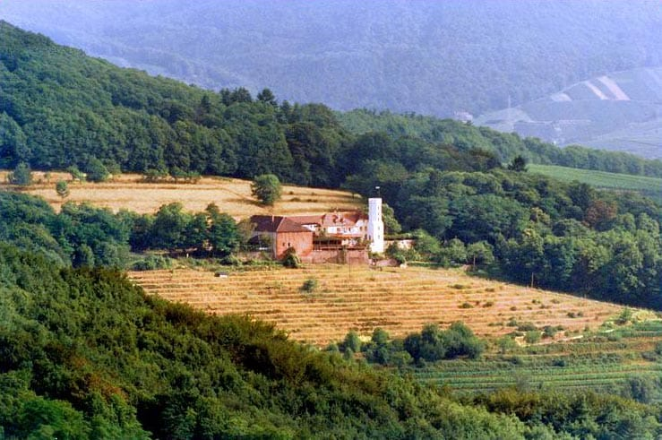 Leinsweiler in der Pfalz - Slevogthof - Hofgut Neukastell