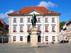 Das Rathaus in Landau in der Pfalz