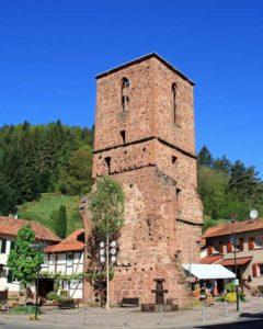 Alter Turm - Kapellenruine in Elmstein-Appenthal
