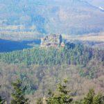 Der Asselstein bei Annweiler in der Pfalz