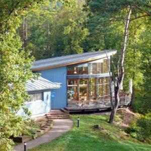 Biosphärenhaus in Fischbach bei Dahn, Feiern, Tagen, spielen, lernen, entspannen