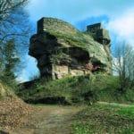 Burg Wegelnburg in Nothweiler