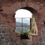 Burgruine Lindelbrunn bei Vorderweidenthal in der Pfalz