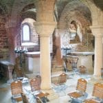 Die Krypta der Klosterruine Limburg bei Bad Dürkheim