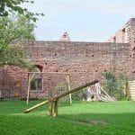 Der Spielplatz der Klosterruine Limburg bei Bad Dürkheim