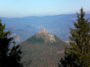 Burg Trifels bei Annweiler in der Pfalz