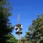 Der Turm des Senders (Große) Kalmit