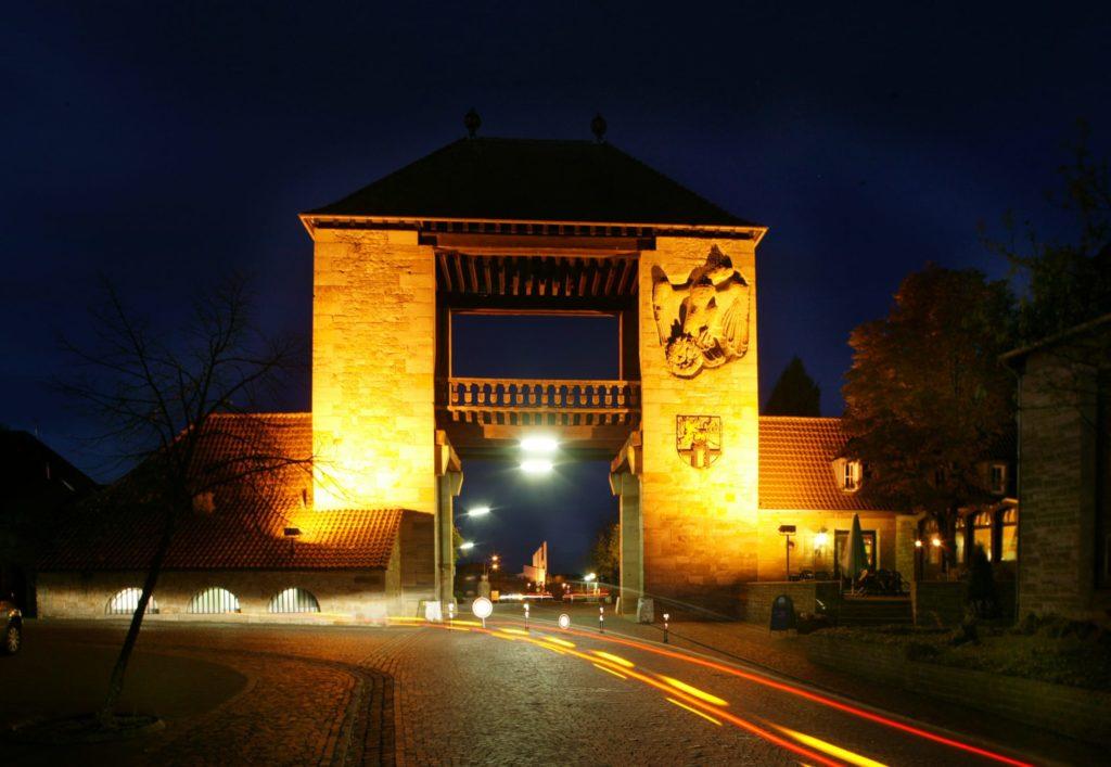Deutsches Weintor in Schweigen Rechtenbach in der Pfalz