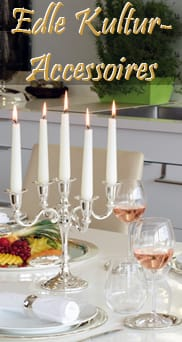 Edle Tisch-, Trink-, Esskultur-Accessoires, Geschenkideen, -artikel bei Juwelier Weber
