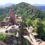 Blick von Altdahn über Grafendahn nach Tanstein