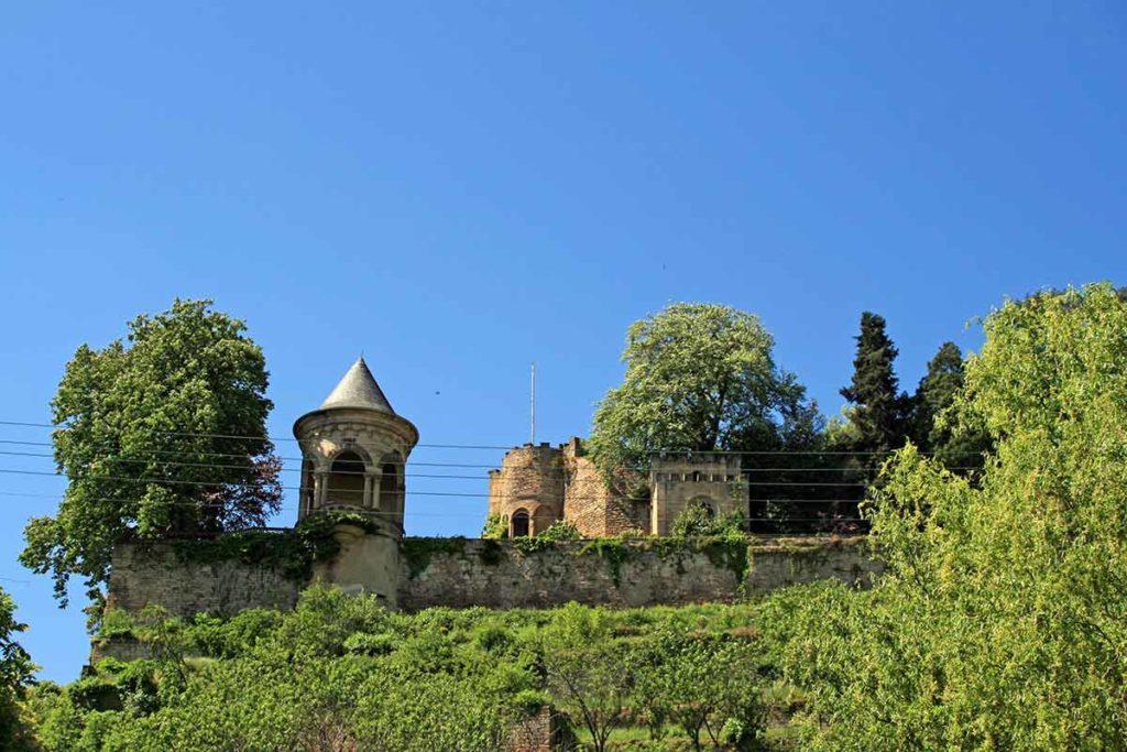 Burg Winzingen über Neustadt-Haardt in der Pfalz