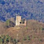 Burgruine Ramburg über Ramberg auf dem Schlossberg