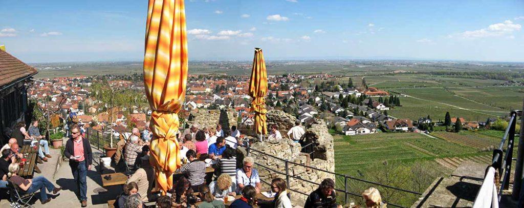 Burgschänke Wachtenburg - Wachenheim in der Pfalz