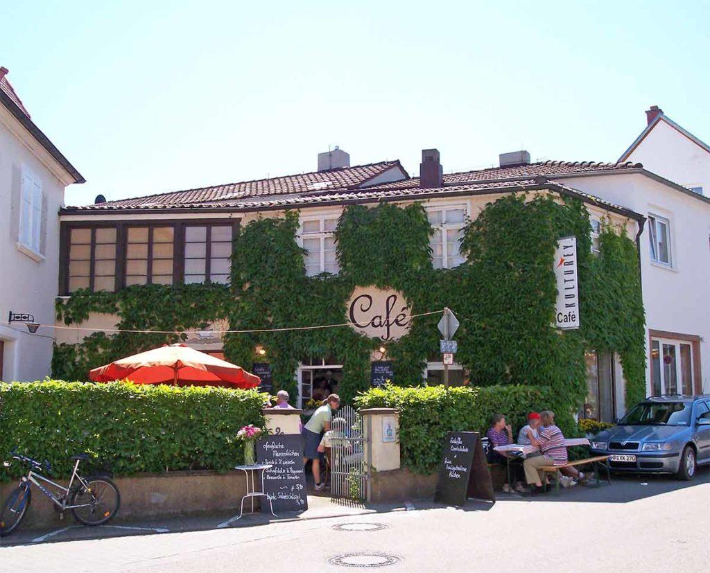 """Café, Wein, Kultur """"Kulturey"""" in Wachenheim in der Pfalz"""