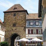 Eisentor in Freinsheim in der Pfalz