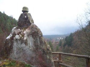 Der Ehrenfels bei Elmstein im Pfälzerwald