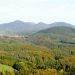 Gossersweiler-Stein in der Pfalz - Blick von Ruine Lindelbrunn aus