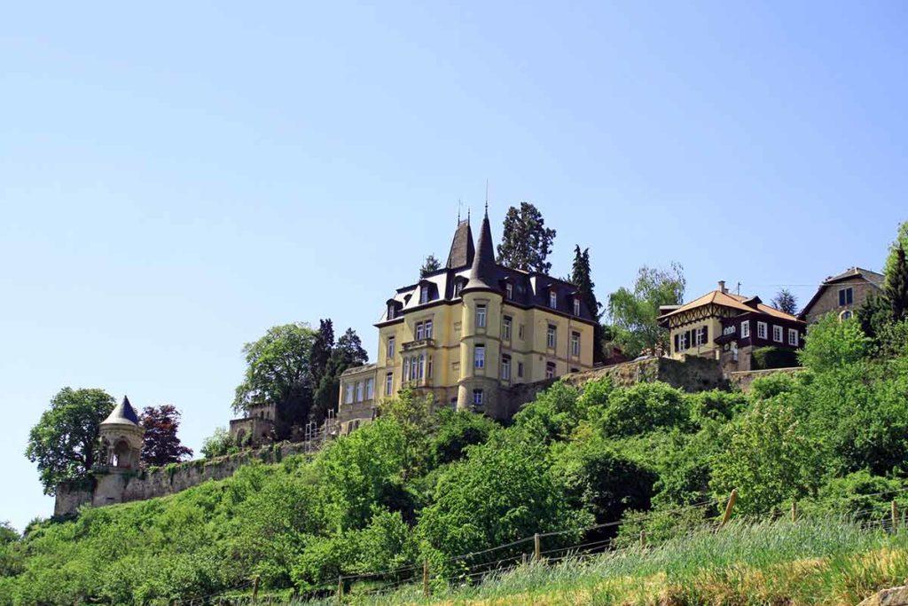 Haardter Schlössel über Neustadt-Haardt in der Pfalz
