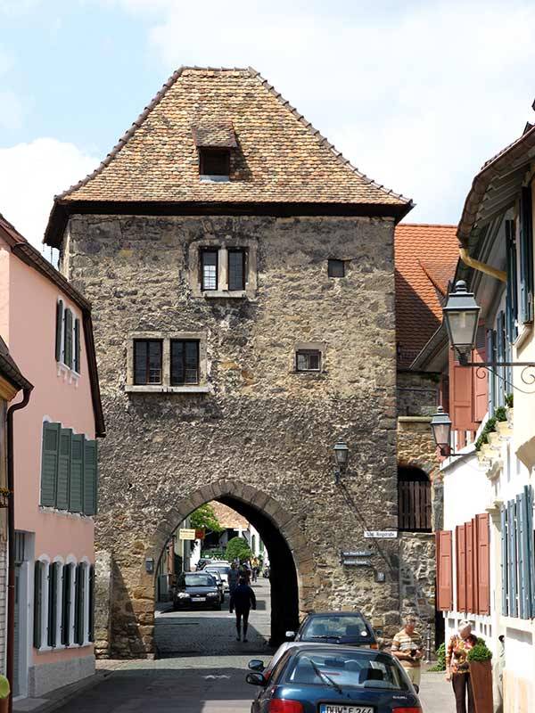 Haintor in Freinsheim in der Pfalz