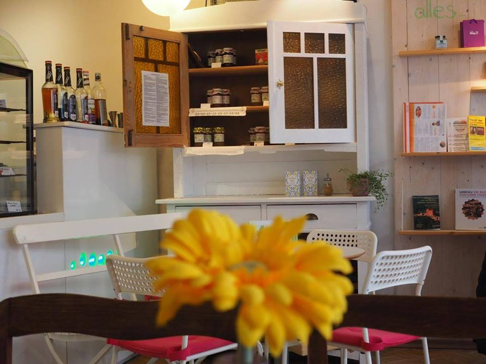 "Café ""Ich bin so frey"" in Landau in der Pfalz - Gastraum"