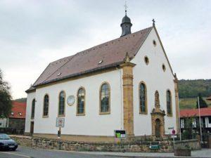 Katholische Pfarrkirche St. Simon und Judas in Pleisweiler in der Pfalz