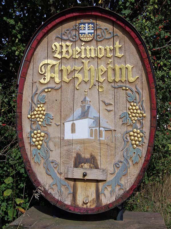 Arzheim bei Landau in der Pfalz