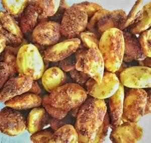 Gebrannte Currymandeln