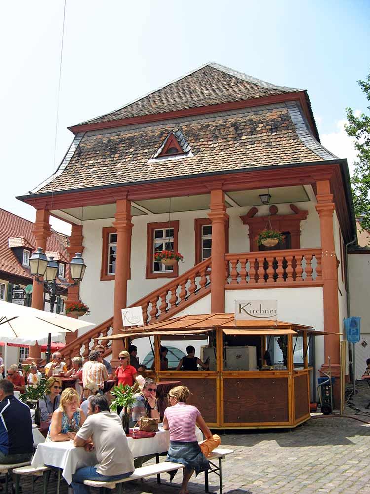 Rathaus in Freinsheim in der Pfalz