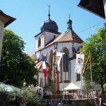Simultankirche St. Georg in Wachenheim in der Pfalz
