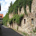 Stadtmauer in Freinsheim in der Pfalz