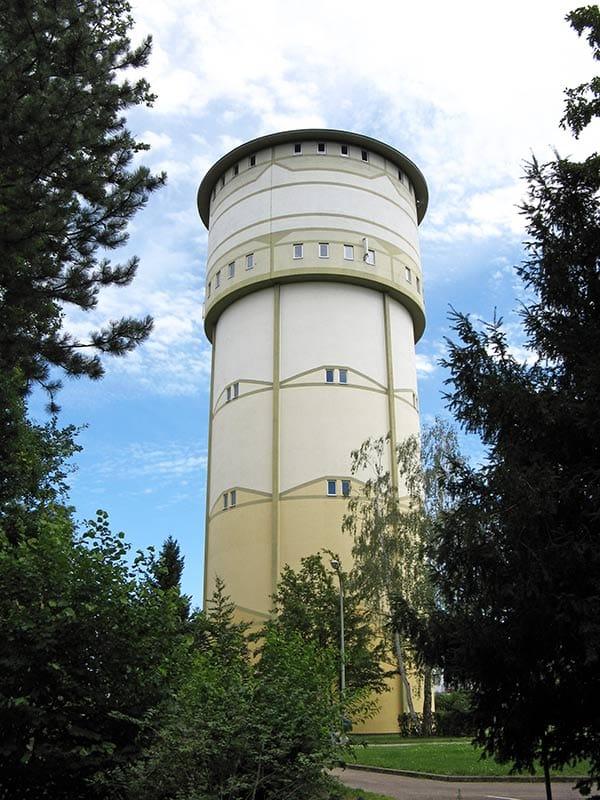 Wasserturm in Wörth am Rhein