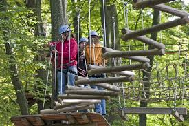 Fun Forest- Kletterpark in Kandel