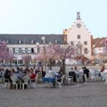 Der Rathausplatz in Landau in der Pfalz