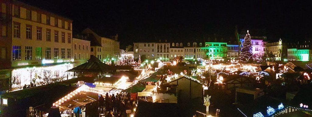 Thomas-Nast-Nikolausmarkt mit Kunsthandwerk in Landau in der Pfalz