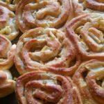 Apfelschnecken nach einem Rezept von Manuela Neumann-Kübler