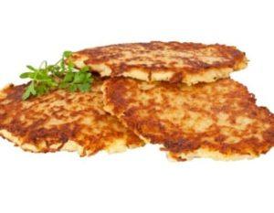 Kartoffelpuffer/ Grumbeerpannekuchen