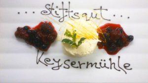"""Restaurant """"Freiraum"""" im Hotel """"Stiftsgut Keysermühle"""" in Klingenmünster"""