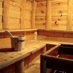 """Sauna im Apartment-Hotel & Restaurant """"Kastanienhof"""" in Dannenfels in der Pfalz"""