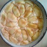 Versoffener Apfelkuchen
