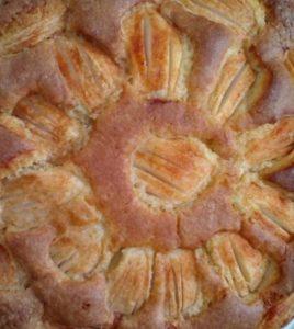 Fertig gebacken, nur noch mit Puderzucker bestreuen