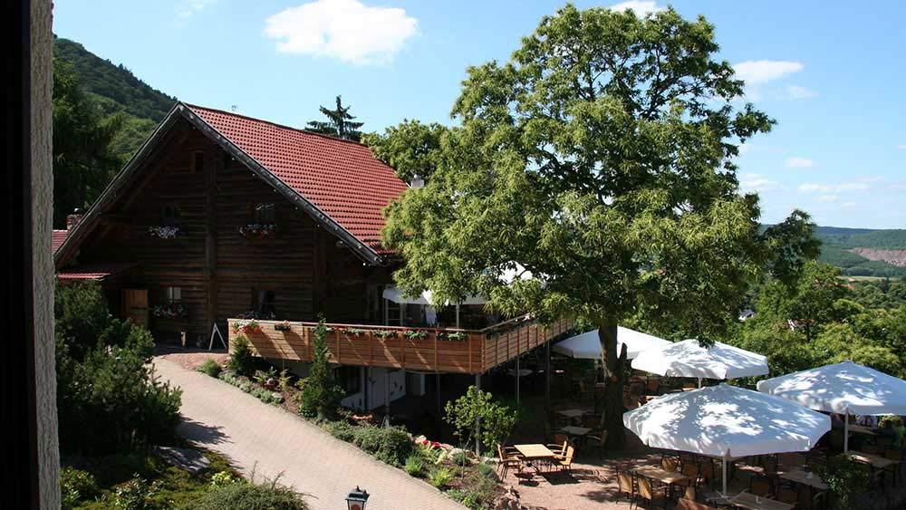 """Restaurant """"Landgasthof Pfalzblick"""" in Dannenfels am Donnersberg in der Pfalz"""