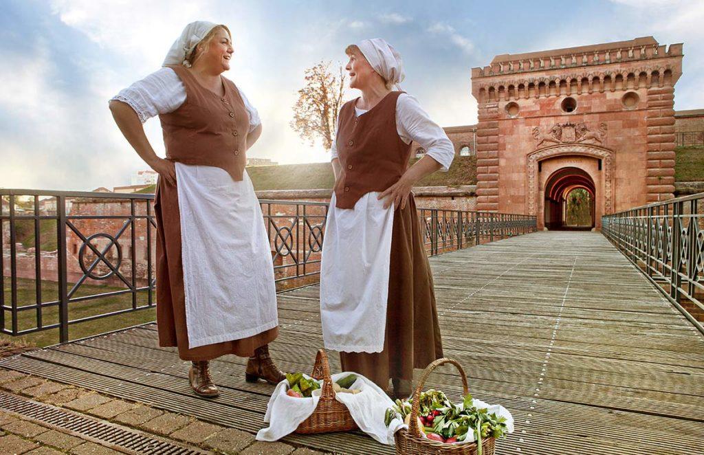 Bauersfrauen in Germersheim - Historische Festung, Ursprüngliche Natur, Kunst und Kultur-Genuss