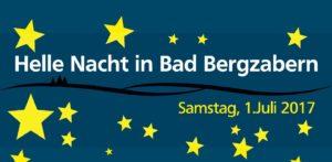 Helle Nacht in Bad Bergzabern, Mitternachtsshopping