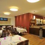 """Gastraum Bold's Restaurant """"Zum Grünen Kranz"""" in Rodalben in der Pfalz"""