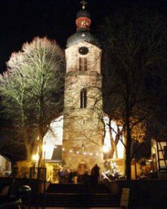 Weihnachtsmarkt in Rheinzabern in der Pfalz