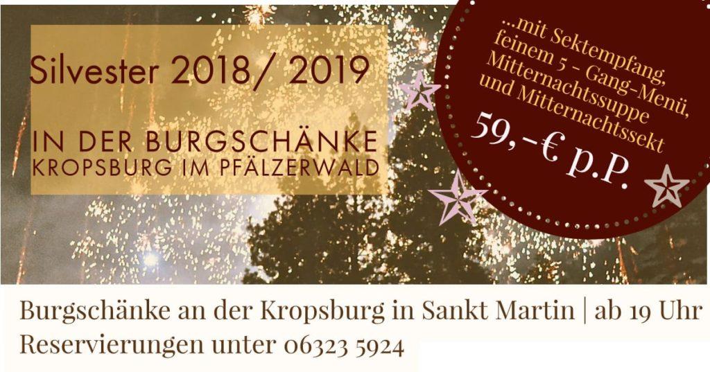 Kropsburg Silvester 2018