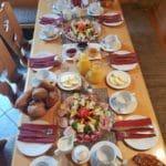 Frühstück in der Burgschänke Kropsburg